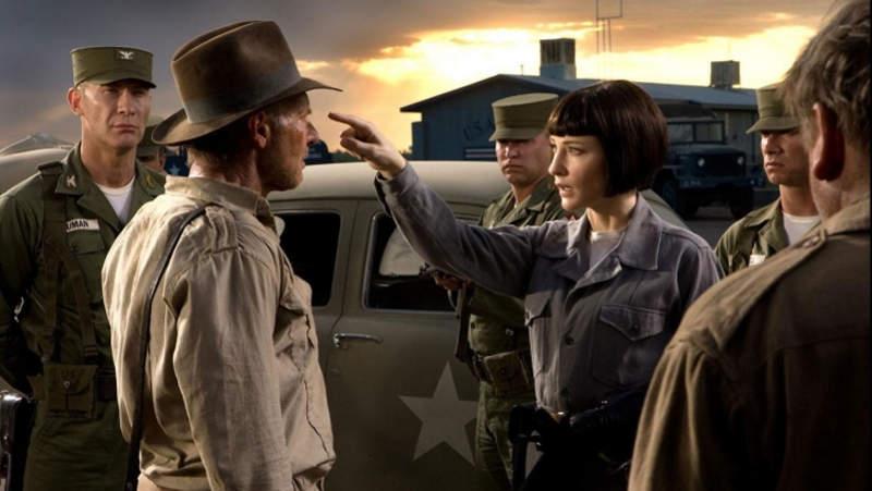 кадр из фильма Индиана Джонс 5