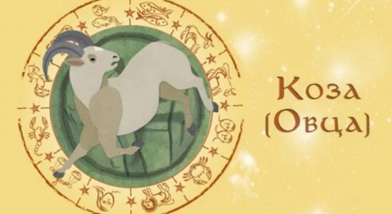 коза гороскоп