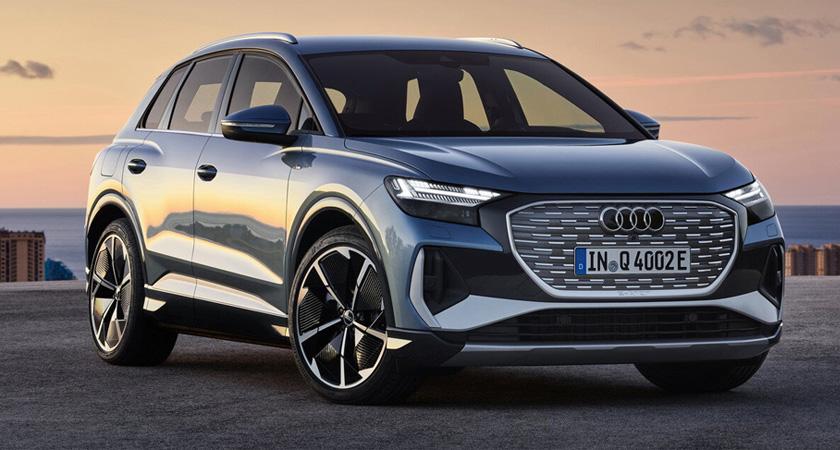 Audi Q4 e-tron -новые кроссоверы 2021-2022 года