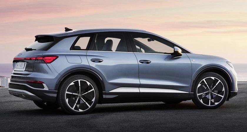 Audi Q4 e-tron - ожидаемые кроссоверы 2021-2022 года