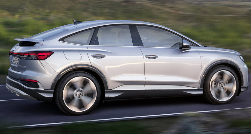 Audi Q4 e-tron - электрические кроссоверы 2021-2022 года