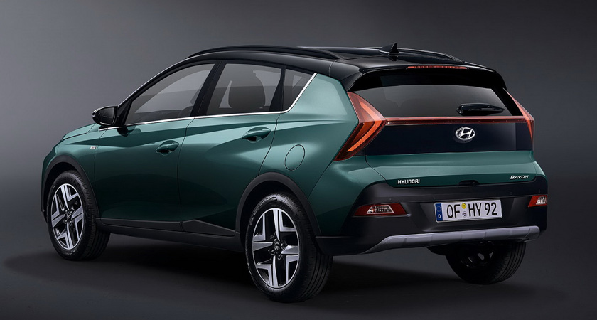 Hyundai Bayon - кроссоверы 2021-2022 года
