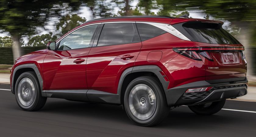 Hyundai Tucson 2021-2022 экстерьер, характеристики