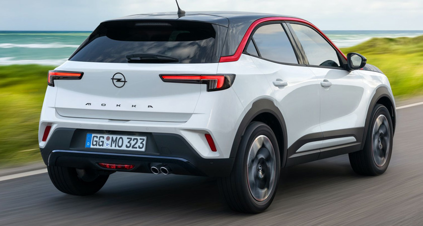 Opel Mokka - новые кроссоверы 2021-2022 года