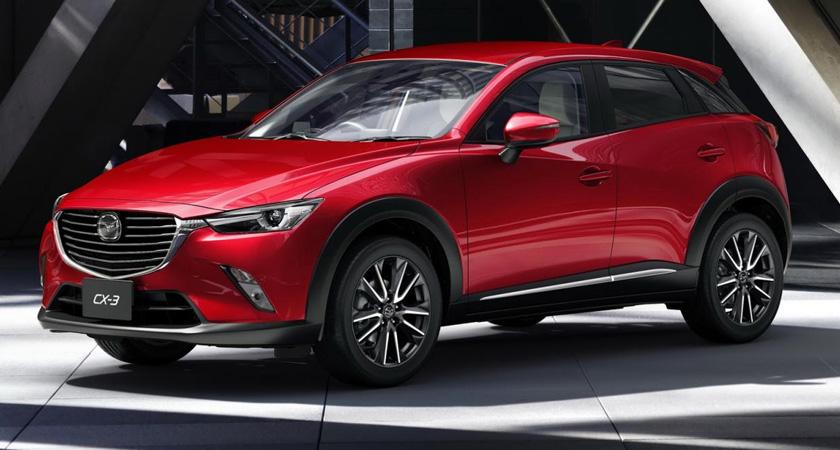 Mazda СХ 3 -новые кроссоверы 2021-2022 года