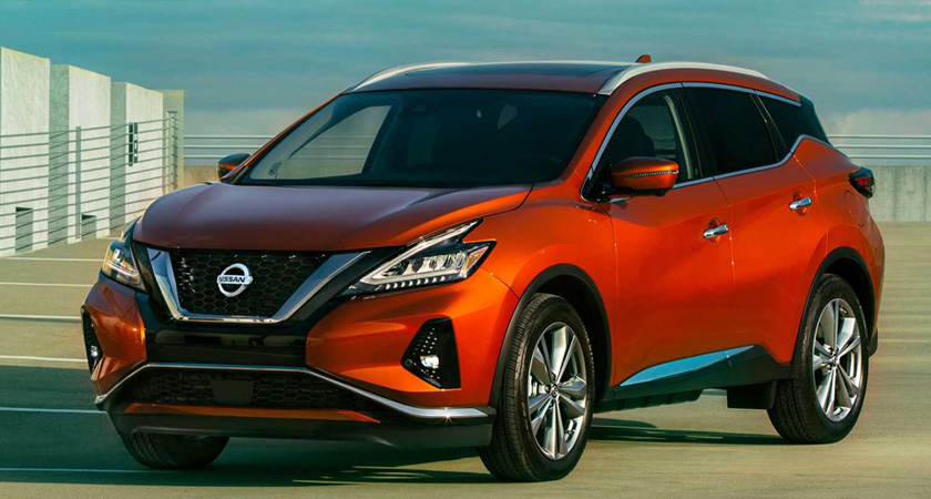 Nissan Murano -новые кроссоверы 2021-2022 года