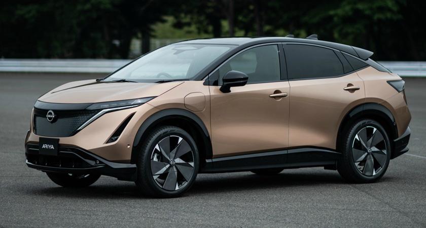 Nissan Ariya - новые кроссоверы 2021-2022 года