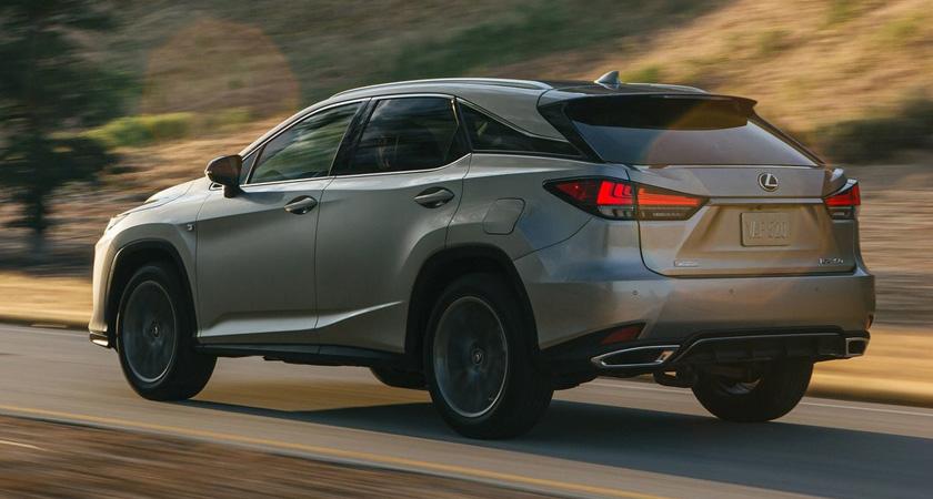 Lexus RX - кроссоверы 2021-2022 года