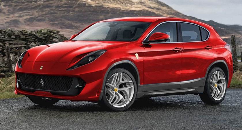 Ferrari Crossover 2022