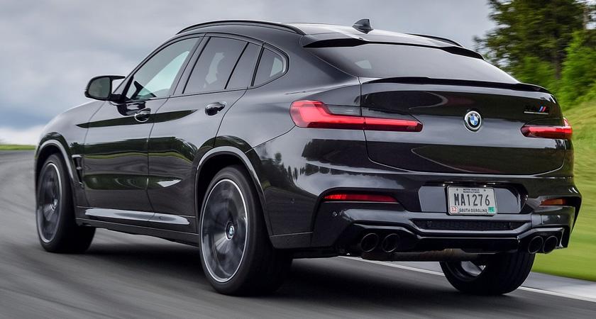 BMW X4 M - кроссоверы 2021-2022 года
