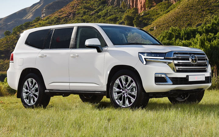 Toyota Land Cruiser 300 2022 года
