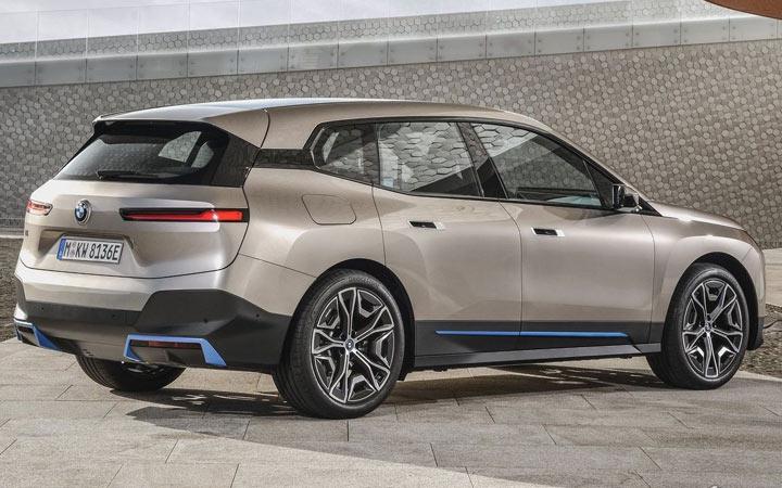 BMW iX 2022 экстерьер