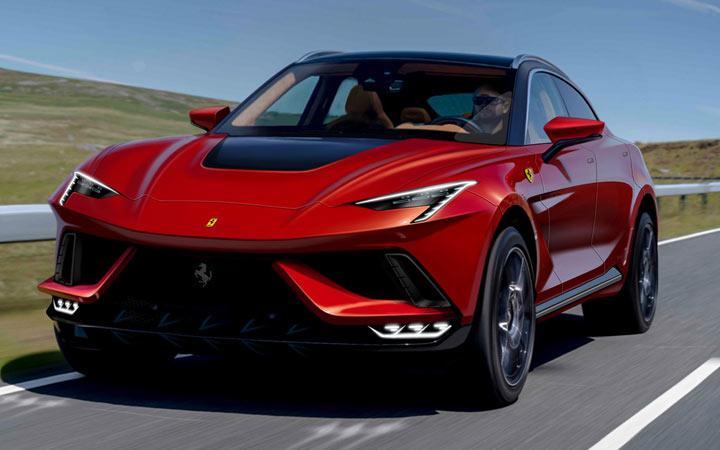 Ferrari Purosangue 2022