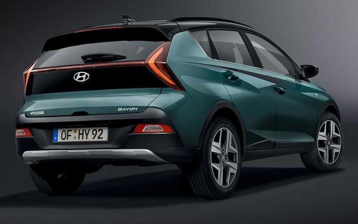 Hyundai Bayon 2022 экстерьер