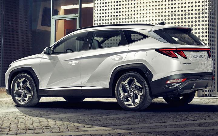 Hyundai Tucson 4 2022 экстерьер