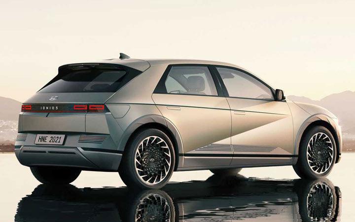 Hyundai IONIQ 5 2022 экстерьер