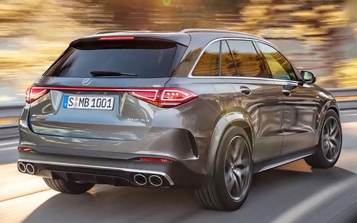 Mercedes GLC 2022 экстерьер