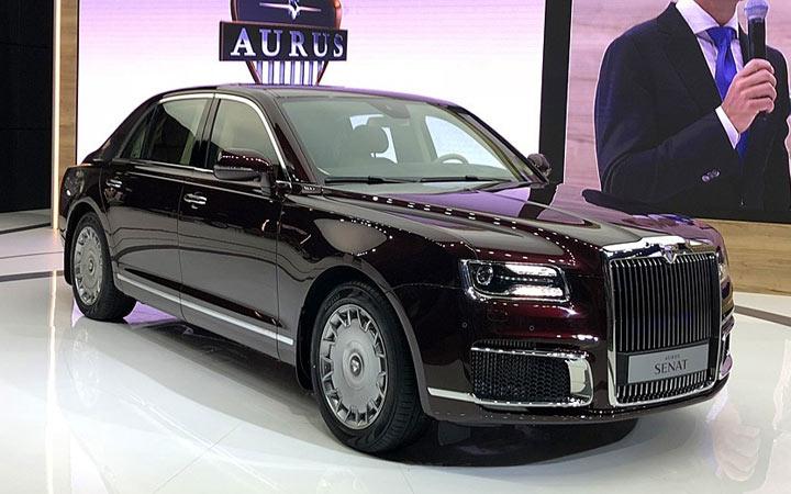 Aurus Senat S600 2022