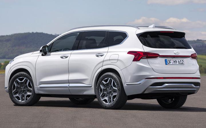 Технические характеристики Hyundai Santa Fe 2021-2022