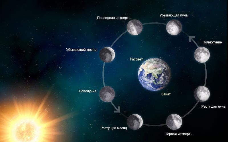 Лунные затмения 2022 года