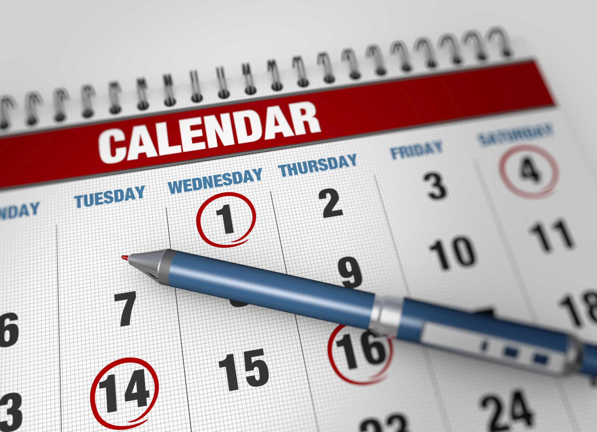 Как указывать дату начала отдыха в графике отпусков