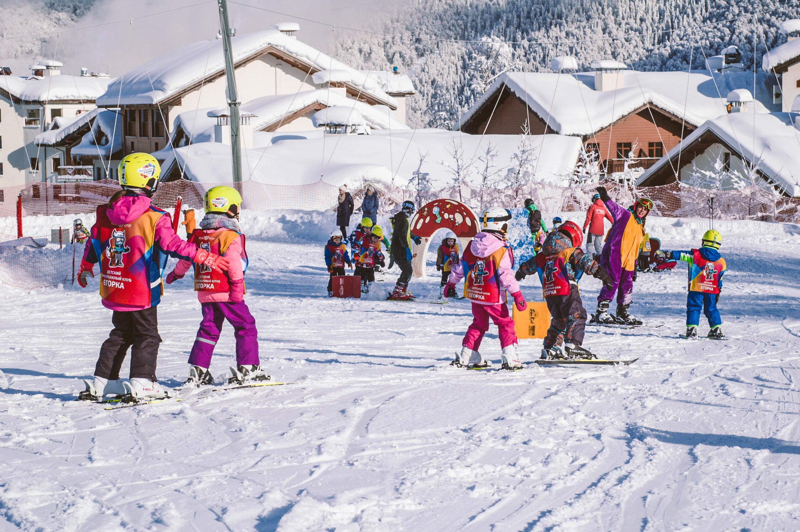 Новыйй годв горах Сочи