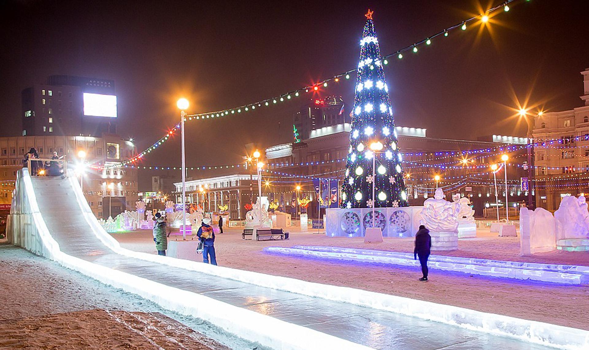 Новогодние каникулы в Челябинске: все самое интересное