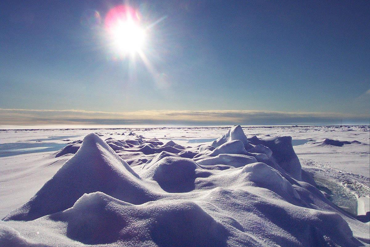 Продолжительность дня за полярным кругом