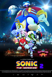 Соник в кино 2 (Sonic the Hedgehog 2) комедия 2022 года
