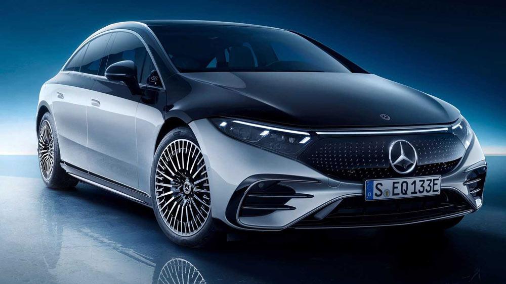 Mercedes EQS 2021-2022