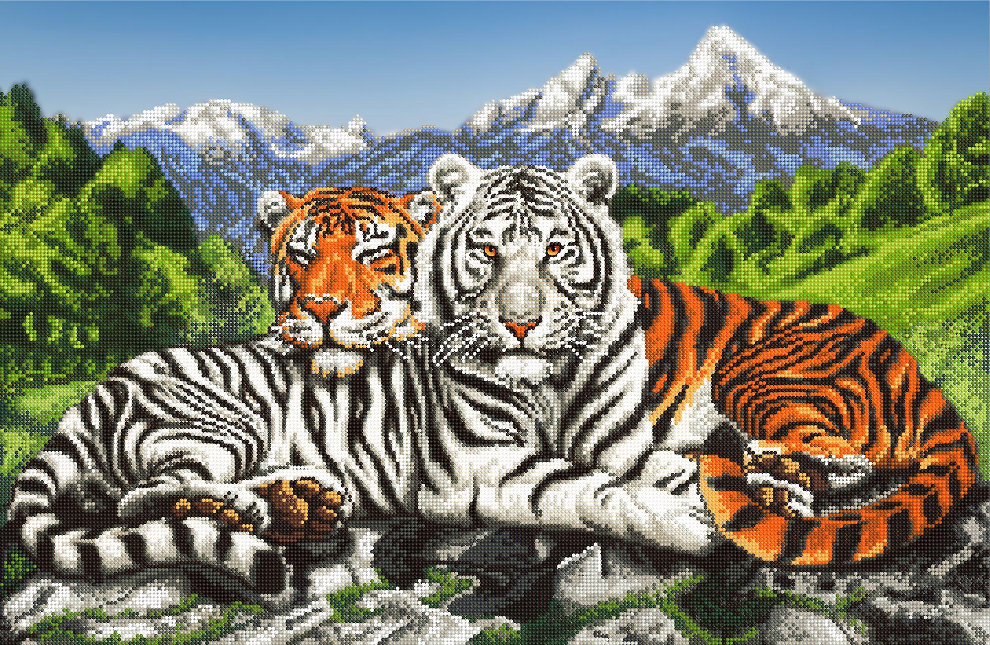 Тигры 2022 счетный крест