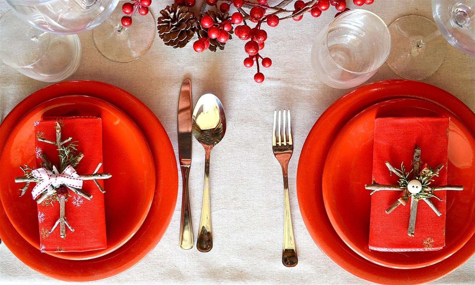 Стили для сервировки новогоднего стола