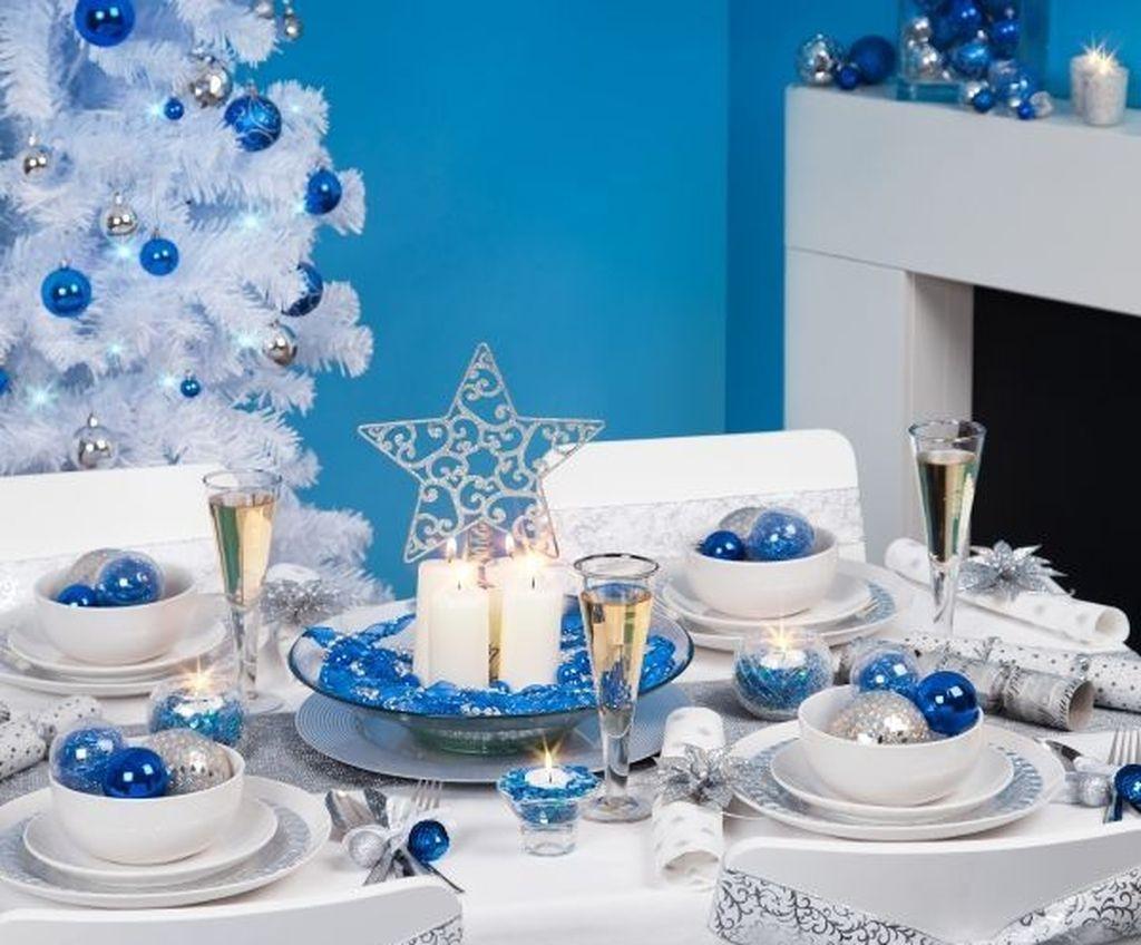 Украшения и декор новогоднего стола