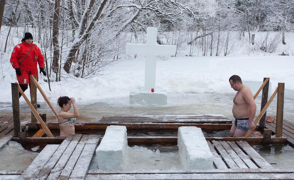 Правила купания на Крещение Господне