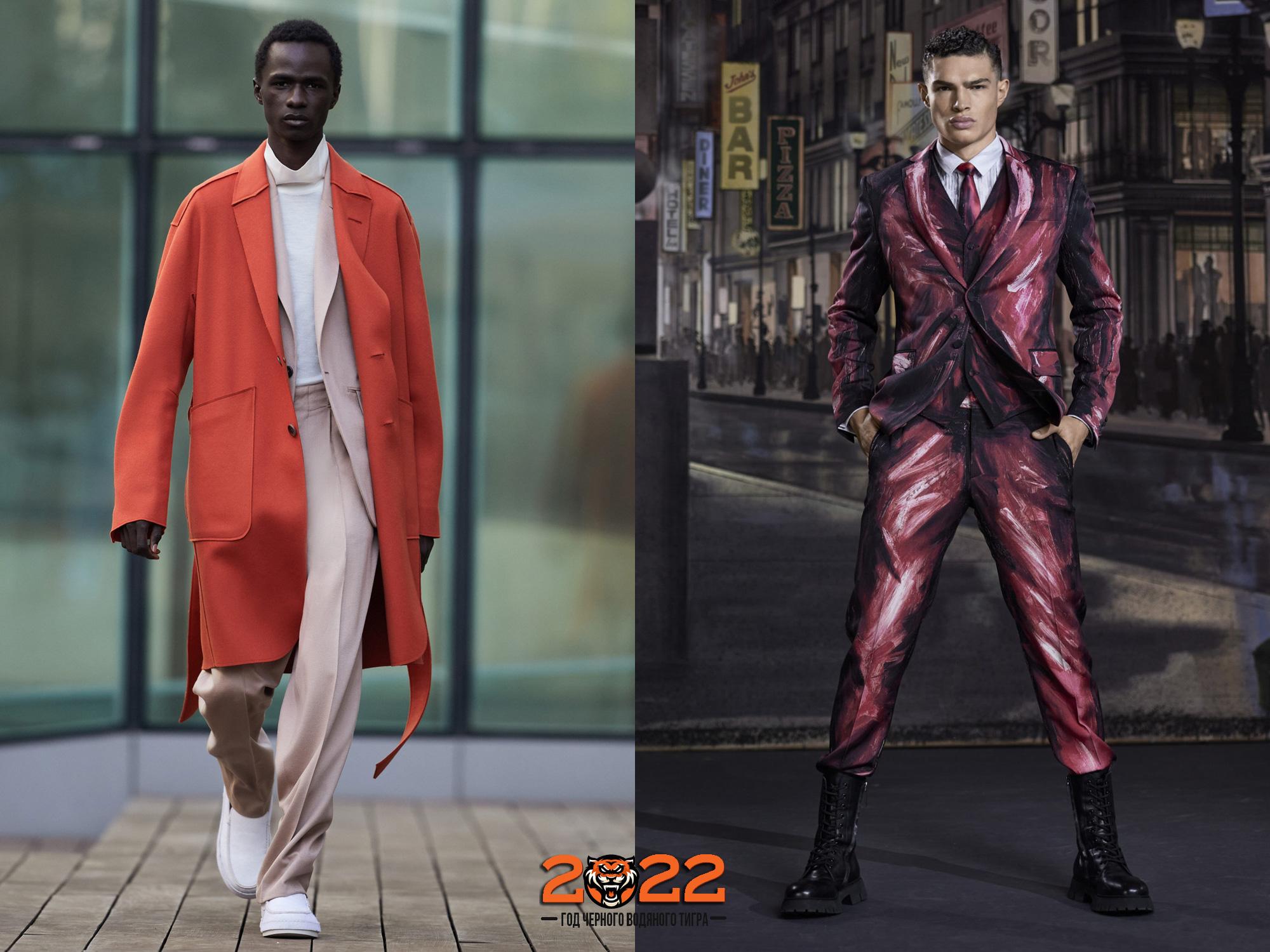 Мужская одежда сезона осень-зима 2021-2022  модные тенденции, тренды