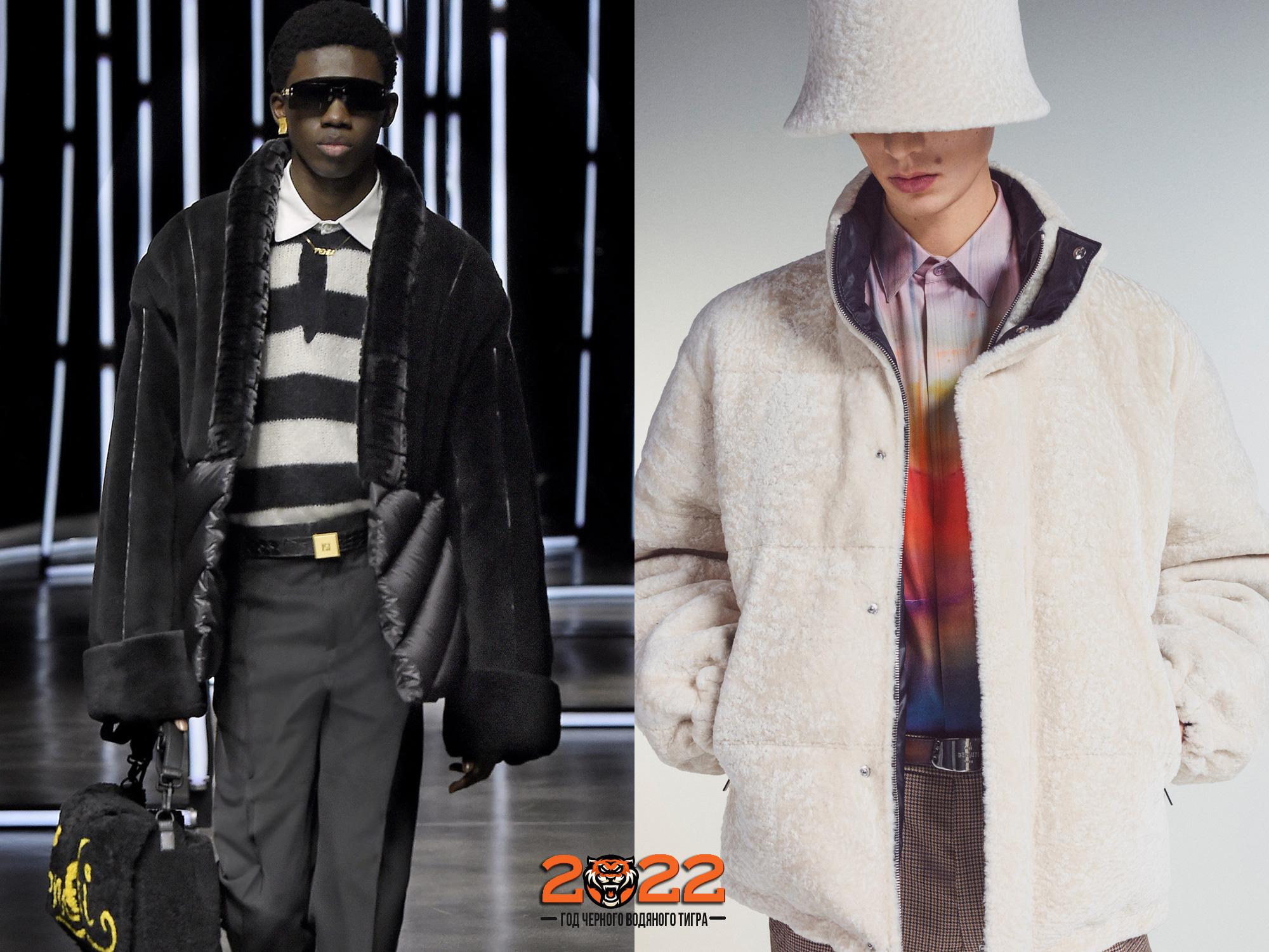 Мужская мода осень-зима 2021-2022 - трендовые шубы