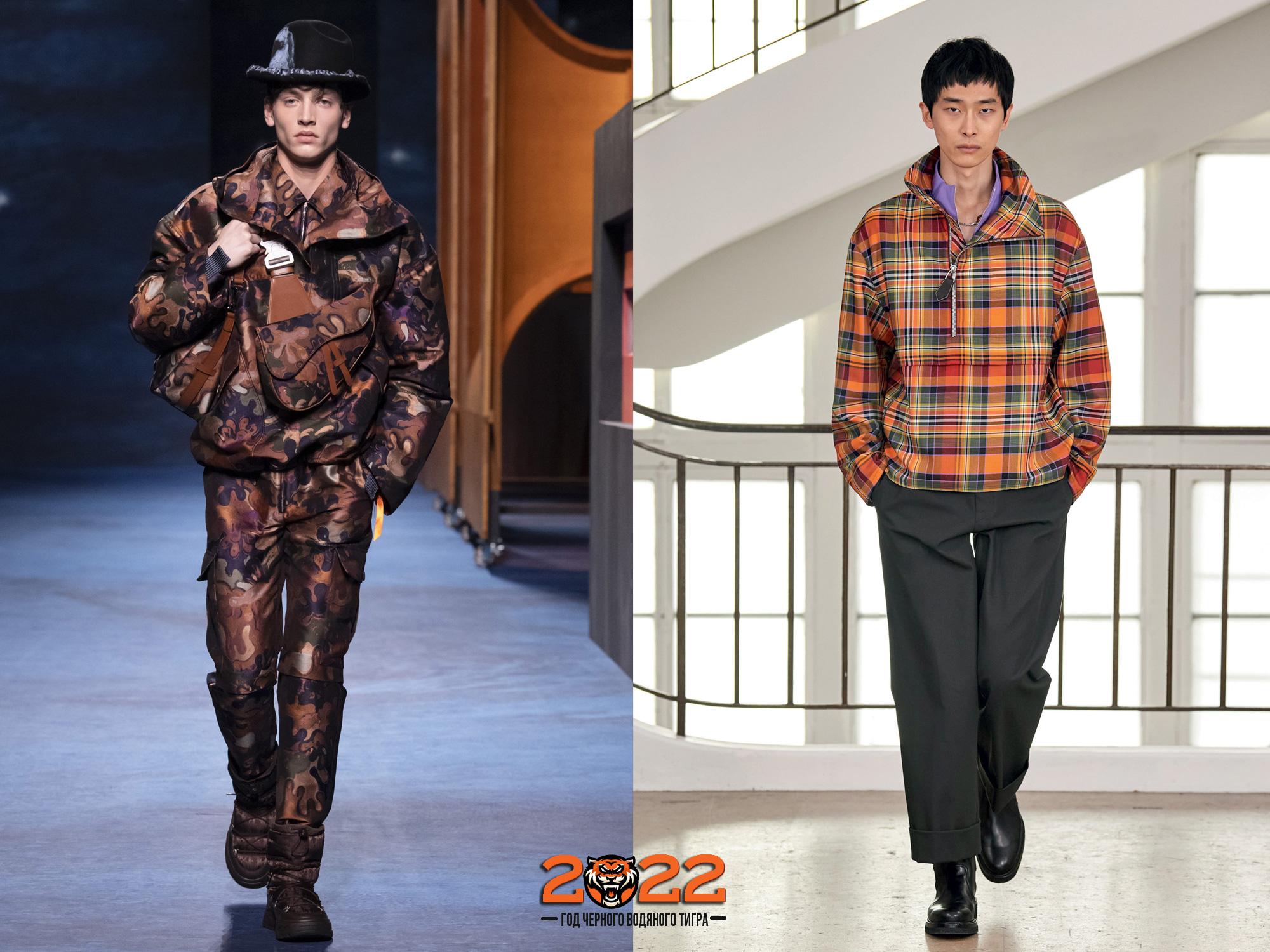 модные мужские куртки анораки осень-зима 2021-2022