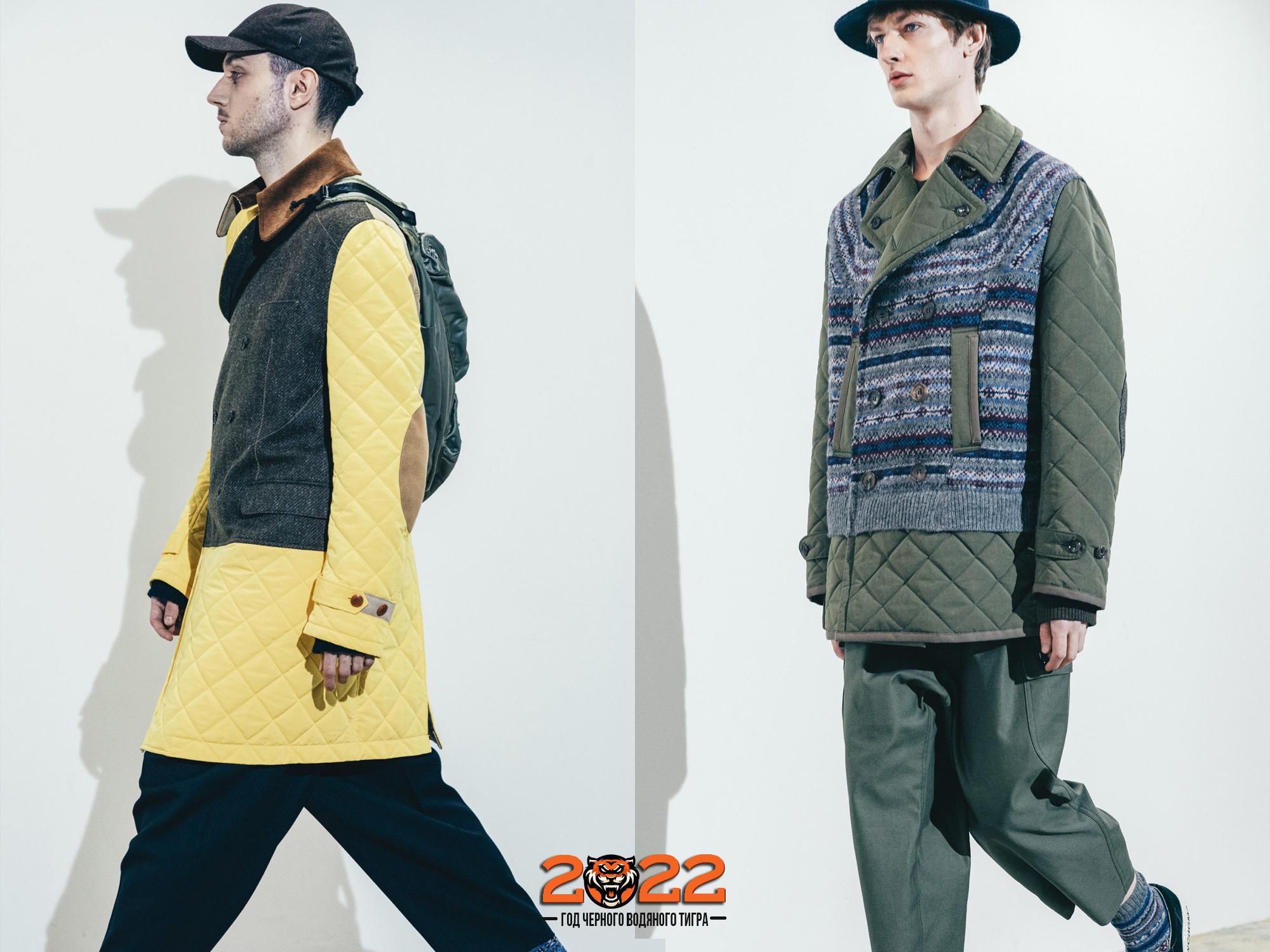 Стеганые мужские куртки сезона осень-зима 2021-2022