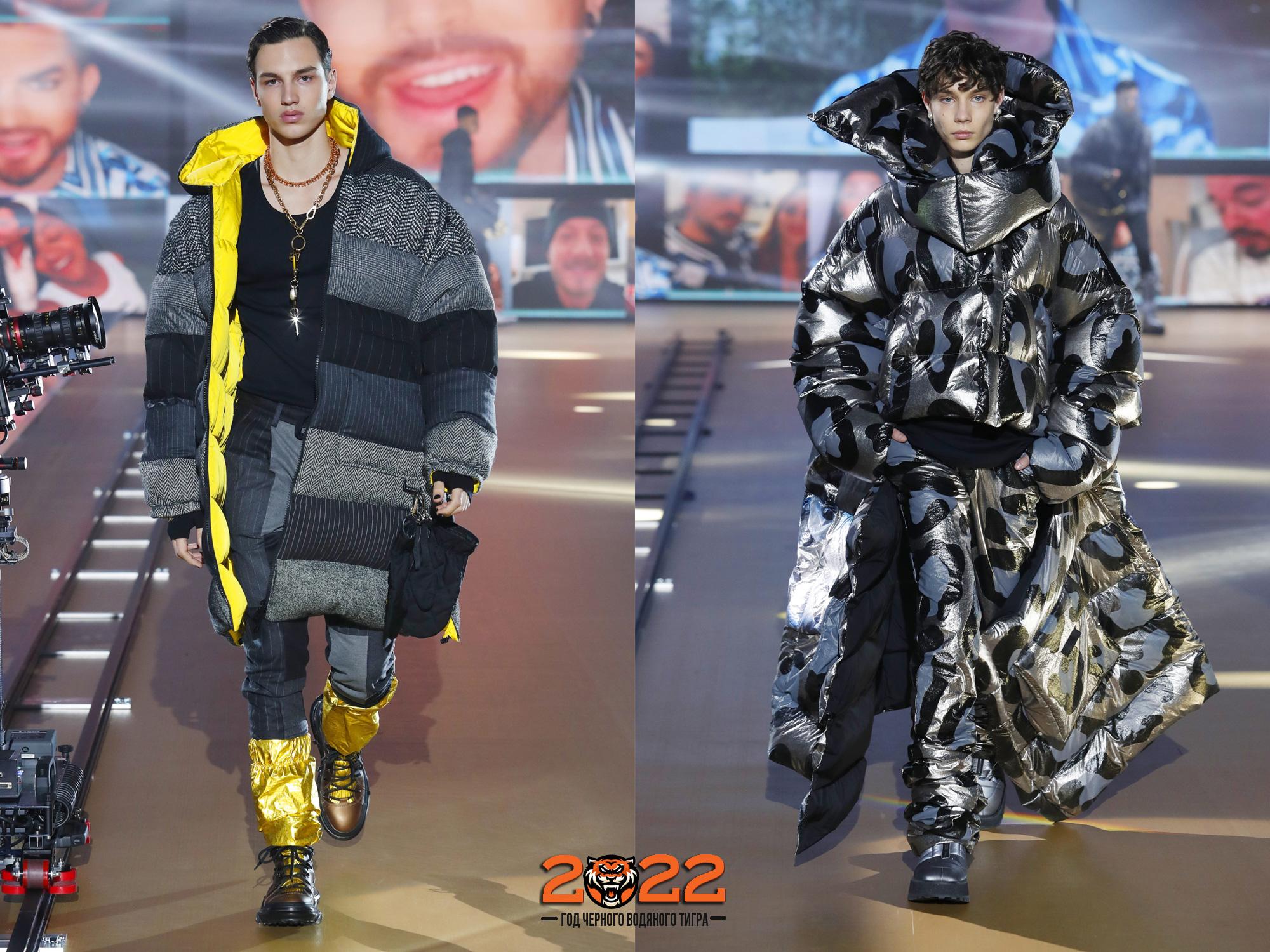 Модные мужские куртки пуховики сезона осень-зима 2021-2022