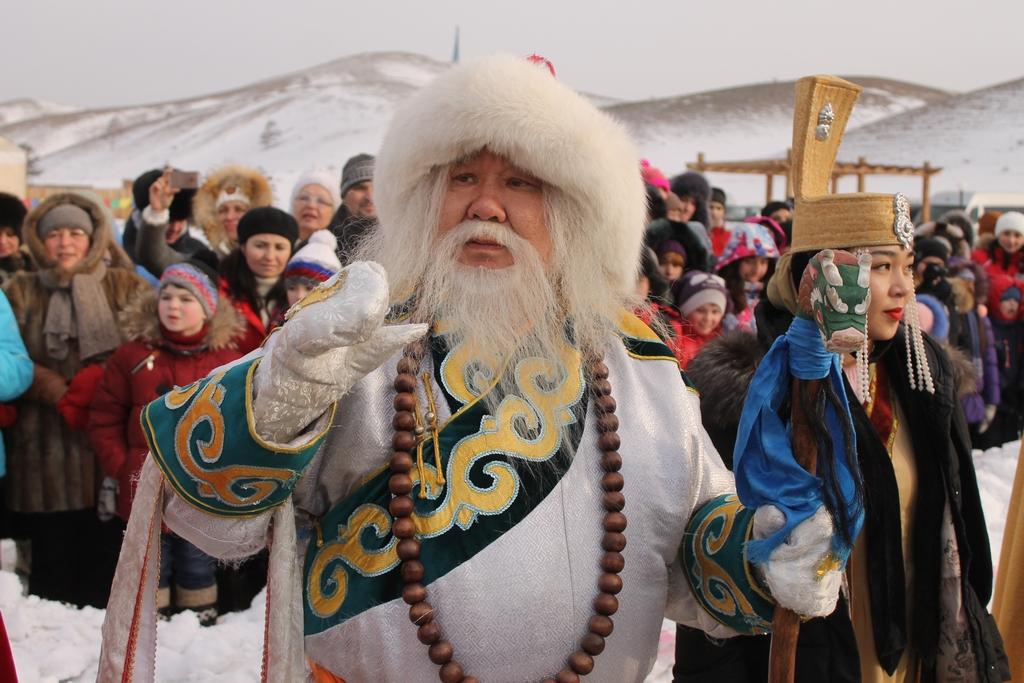 Сагаан Убген – бурятский Дед Мороз