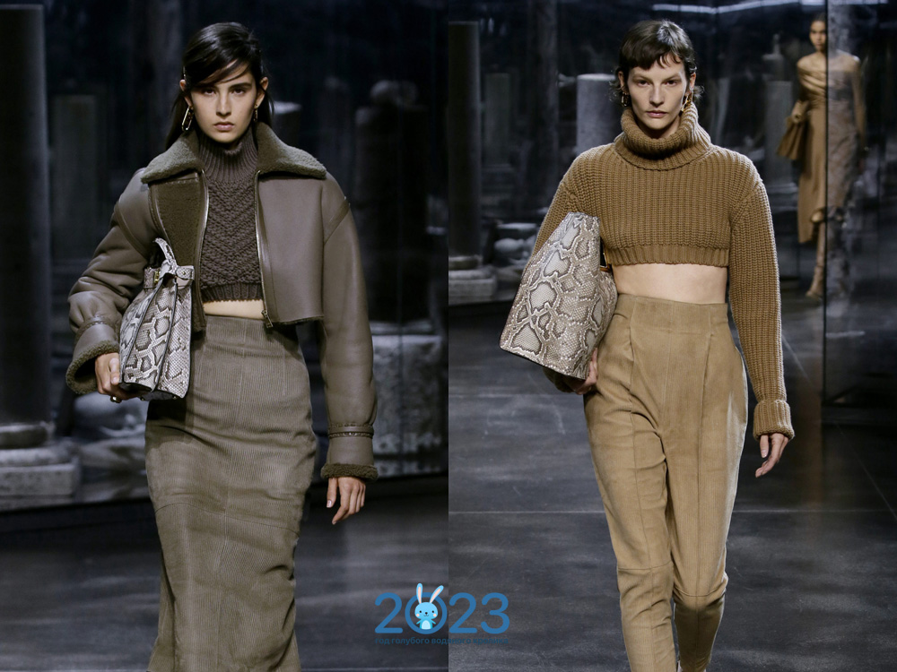 Модные свитера топы осень-зима 2021-2022
