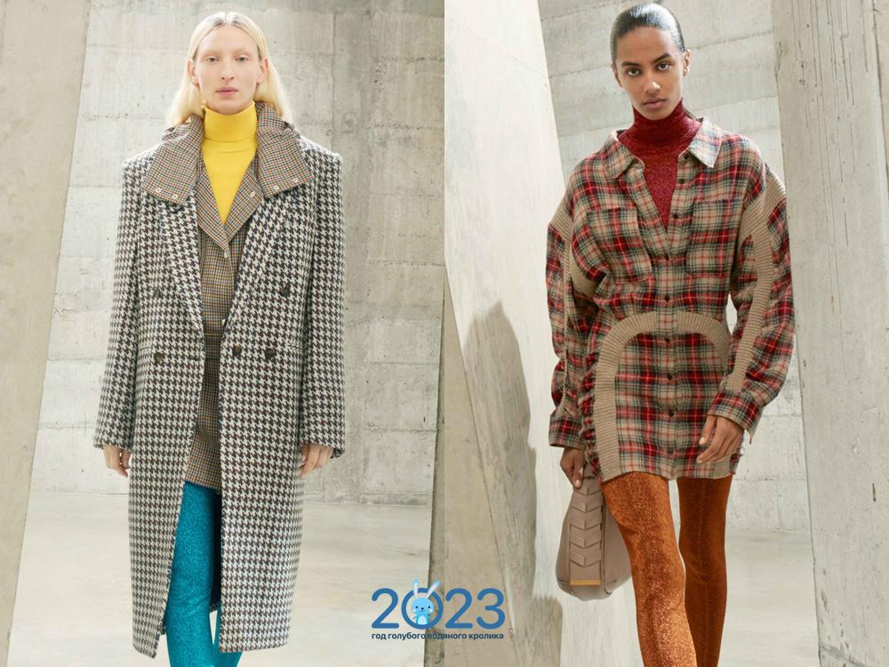 Яркие свитера водолазки зима 2021-2022