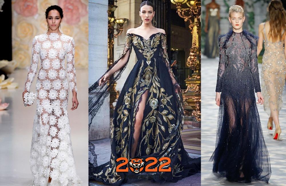 Вечерние платья на Новый Год 2022