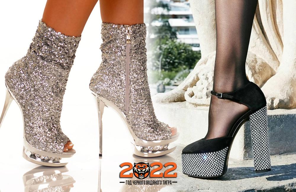 Обувь на Новый Год 2022