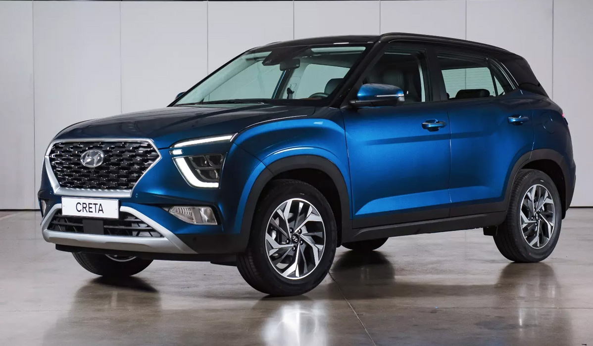 Новинки Hyundai Creta 2021-2022 года