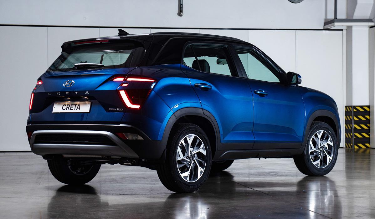Hyundai Creta 2021-2022 года