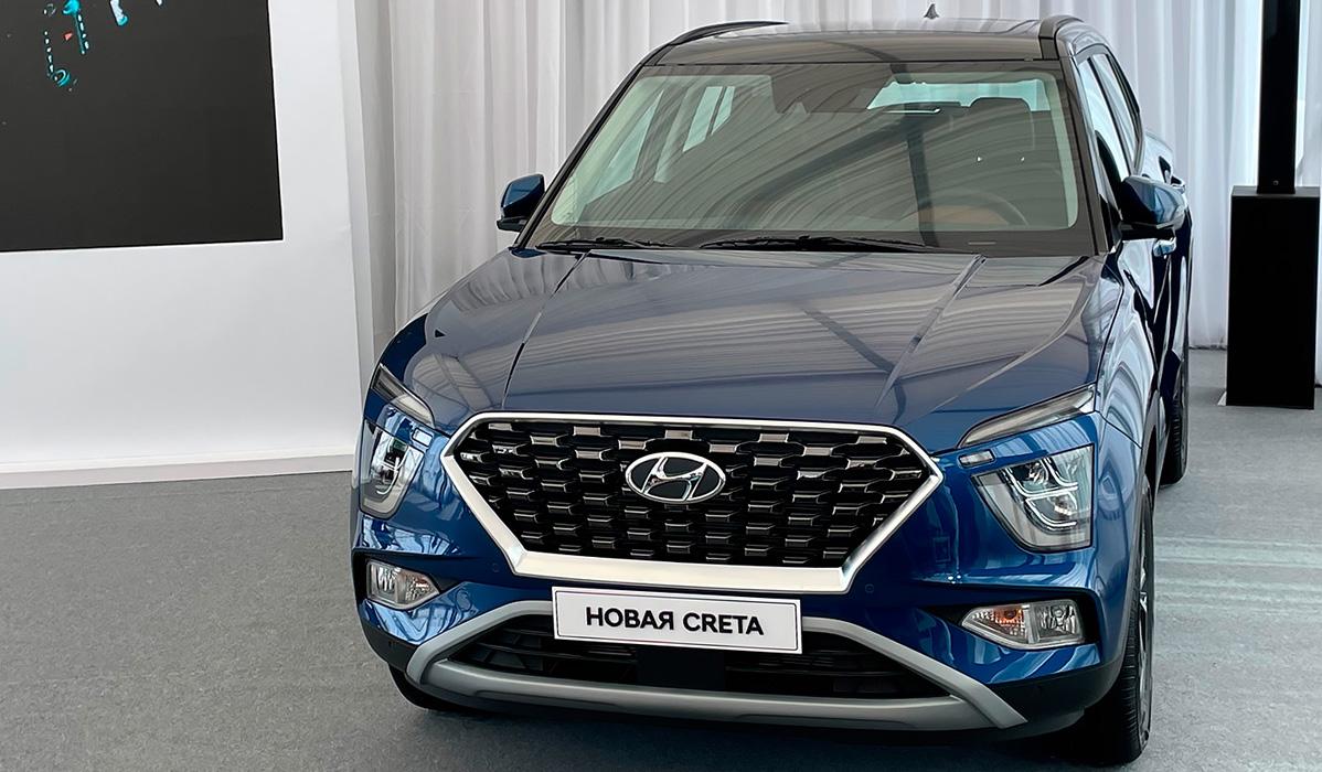 Новинки Hyundai 2021-2022 года - Creta