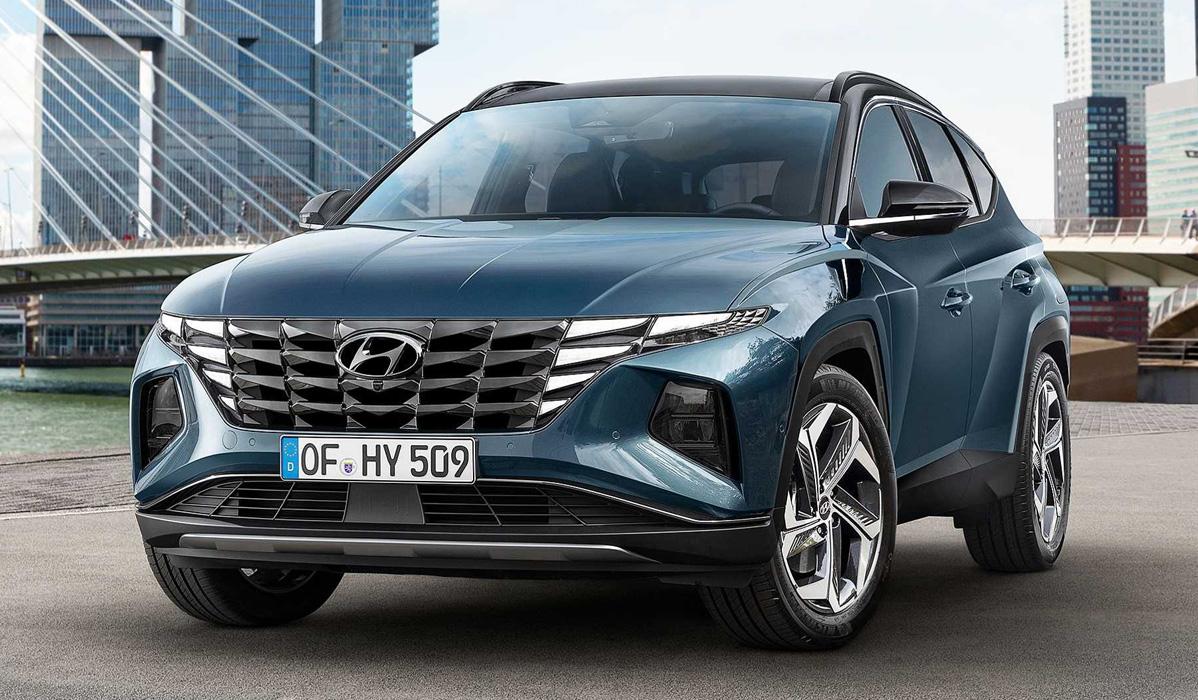 Hyundai Tucson 2021-2022 года