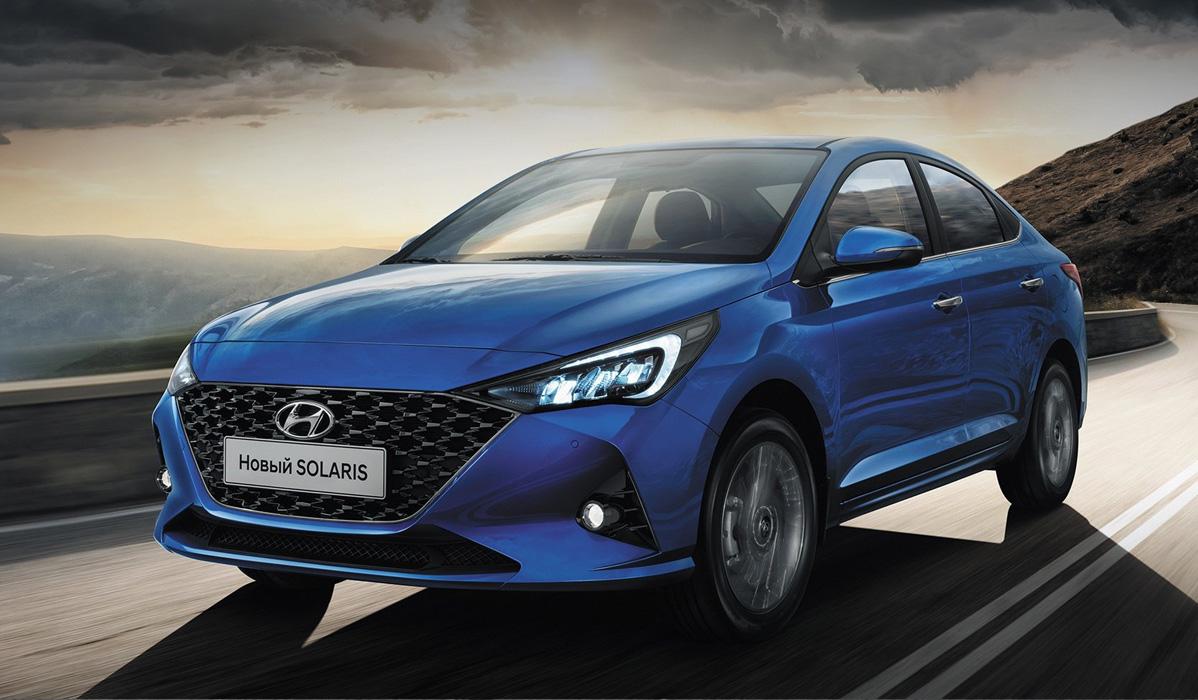 Hyundai Solaris 2021-2022 года