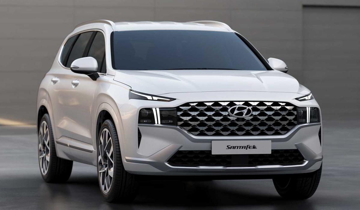 Hyundai Santa Fe 2021-2022 года